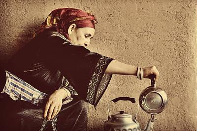 Berber Woman Art