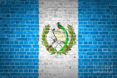Guatemala Flag Digital Art