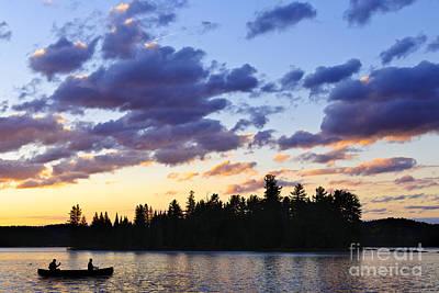 Designs Similar to Canoeing At Sunset