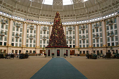 Christmas At West Baden Prints