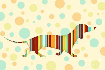 Funny Dog Digital Art