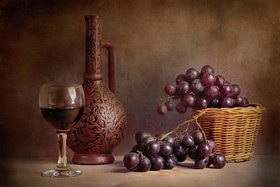 Red Grapes Photographs
