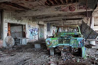 Detroit Abandoned Buildings Photographs