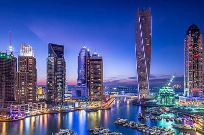 Designs Similar to Dubai Marina by Vinaya Mohan