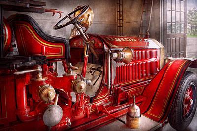 Antique Fire Trucks Photographs