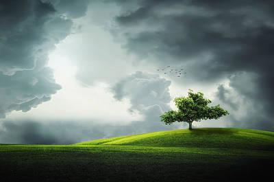 Grey Clouds Photographs Original Artwork