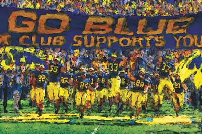 University Of Michigan Paintings