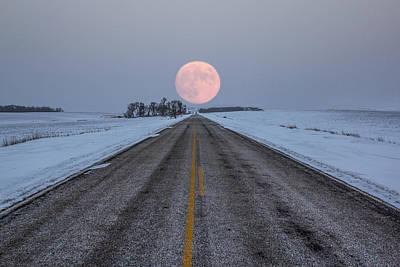 Winter Roads Photographs Prints
