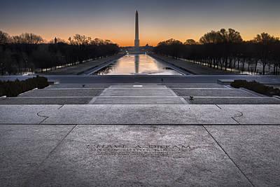 Lincoln Speech Digital Art