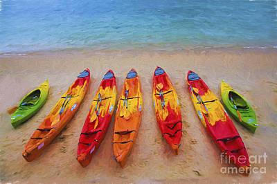Designs Similar to Kayaks At Manly