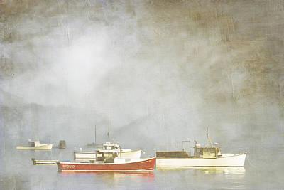 Lobster Boat Art