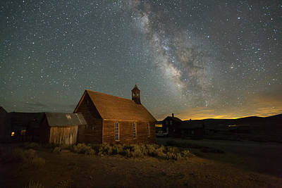 Designs Similar to Milky Way Over Bodie Church