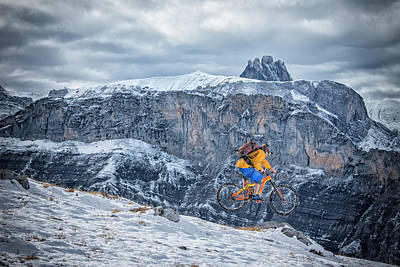 Designs Similar to Mountain Bike Mtb In The Snow