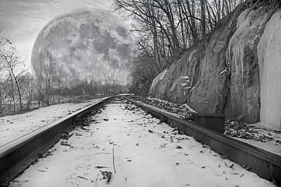 Rail Road Original Artwork