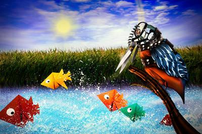 Kingfisher Digital Art