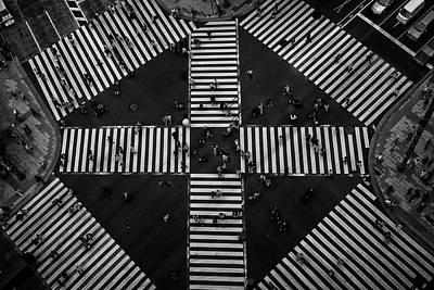 Designs Similar to People Crossing by Koji Tajima