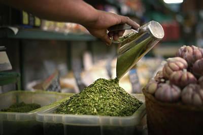 Designs Similar to Person Preparing Food In Market