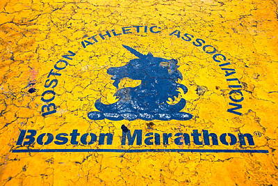 Boston Marathon Art