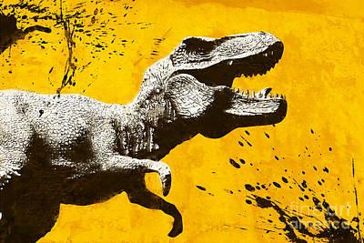 Dinosaur Mixed Media