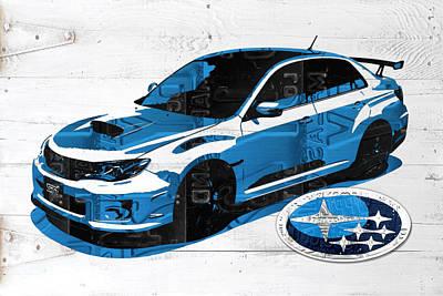 Subaru Wrx Art & Subaru Wrx Art | Fine Art America