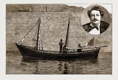 Historic Schooner Drawings Prints