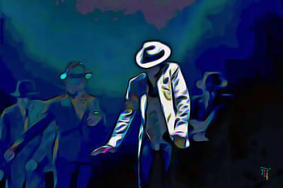 Michael Jackson Digital Art Original Artwork