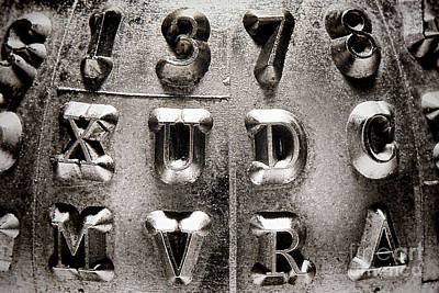 Serif Art Prints
