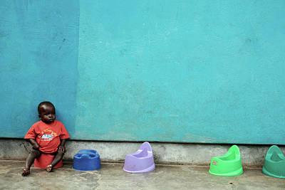 Designs Similar to Ugandan Child On A Potty