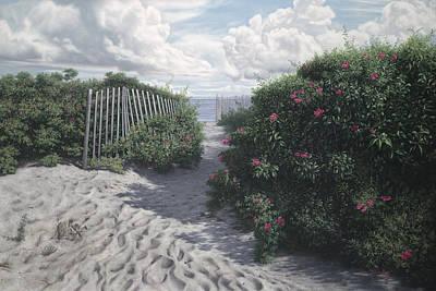 Rosa Rugosa Art