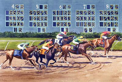 Race Horse Art Prints