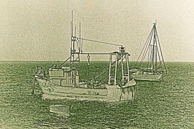 Designs Similar to Fishing Boats Art