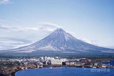 Mayon Volcano Art Prints