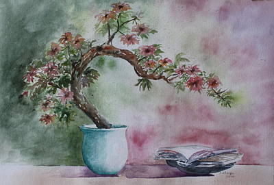Bonsai And Book Paintings