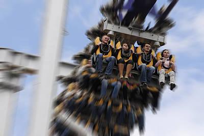 Rollercoaster Photographs Original Artwork
