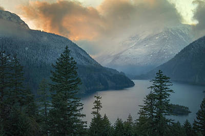 Designs Similar to Diablo Lake Sunset 1