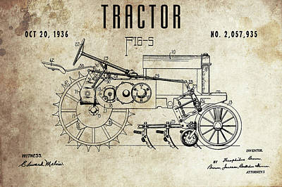Designs Similar to 1936 Tractor Patent