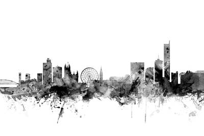 Designs Similar to Manchester England Skyline