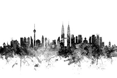 Designs Similar to Kuala Lumpur Malaysia Skyline