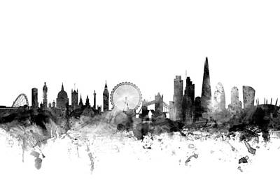 London Skyline Posters