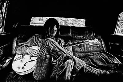 Neil Young Mixed Media