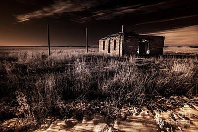 Rural Decay Digital Art Original Artwork