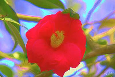 Rhododendron Digital Art Original Artwork