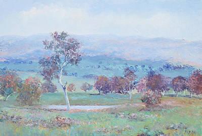Landscape With Creek Art