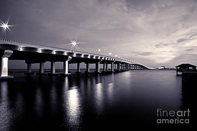 Biloxi Ocean Springs Bridge Prints