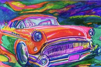 Car Hod Paintings Prints
