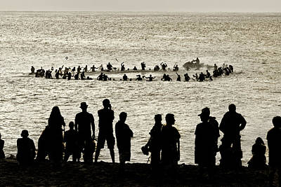 Surfing Contests Prints