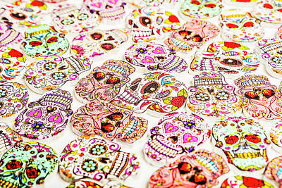 Designs Similar to Day Of The Dead Colors