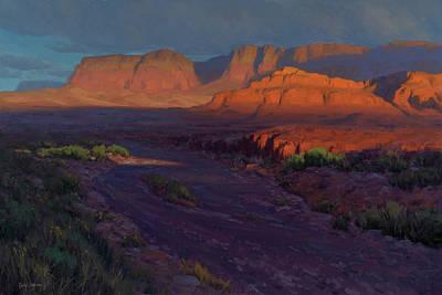 Desert Sunset Posters