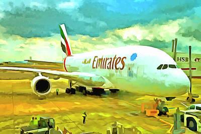 Designs Similar to Emirates A380 Airbus Pop Art