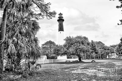 Hunting Island Lighthouse Art